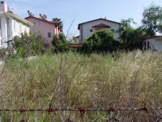 1500M2 Grundstück Zum Verkauf In Dalyan Gulpinar, Dalyan Grundstück Zum Verkauf, 40 Rechts Um Die Ecke