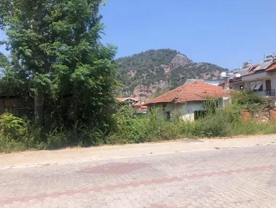 Maras Dalyan Villa Zum Verkauf-Grundstück Zum Verkauf Mit Blick Auf Die Königlichen Gräber 1026M2
