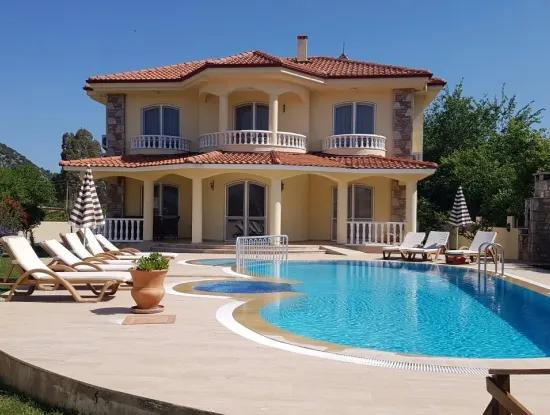 Luxus-Villa Zum Verkauf Villa Zum Verkauf In Dalyan 766M2 Grundstück Der Eckpfeiler Im 4 1