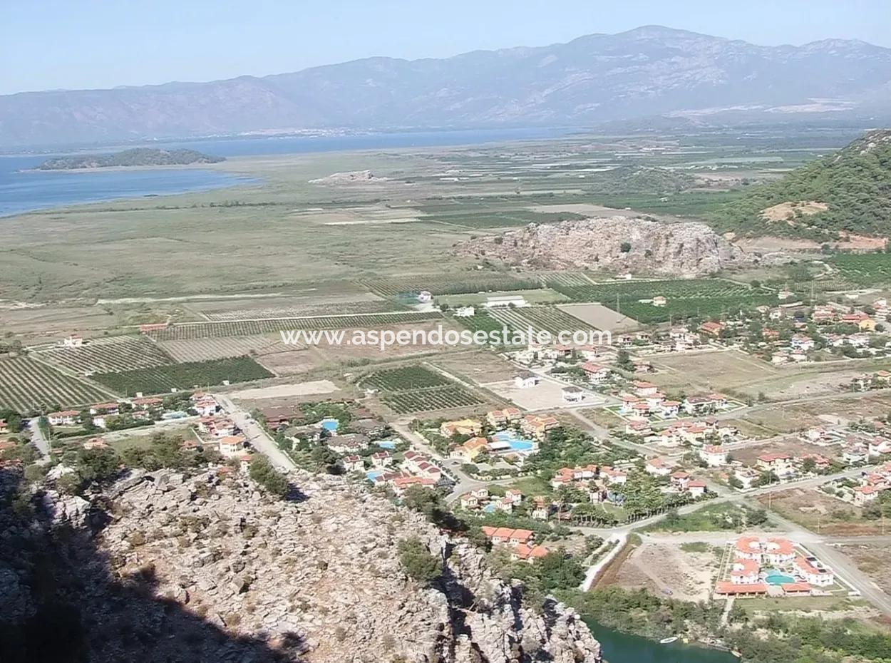 In Gurpinar In Dalyan For Sale Dalyan Plot For Sale In 751M2 30 Zoning
