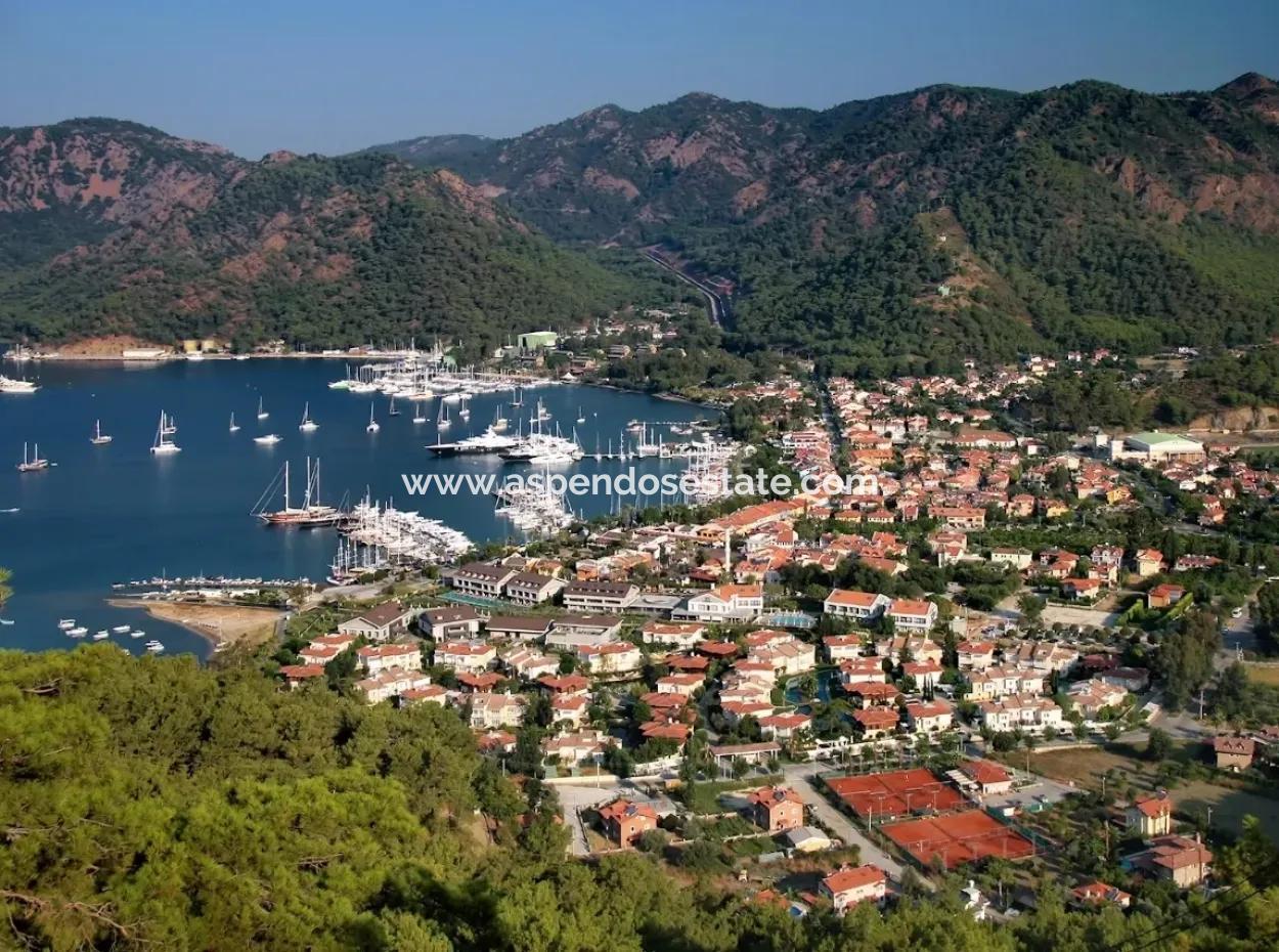 For Sale Plot For Sale In Gocek Near The Sea 4912Spm