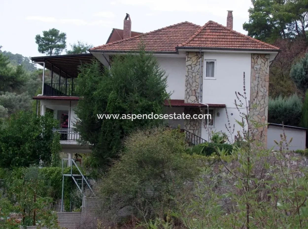 Koycegiz, Dalyan For Sale, Dalyan Villa For Sale With Sea Views In The Village Of