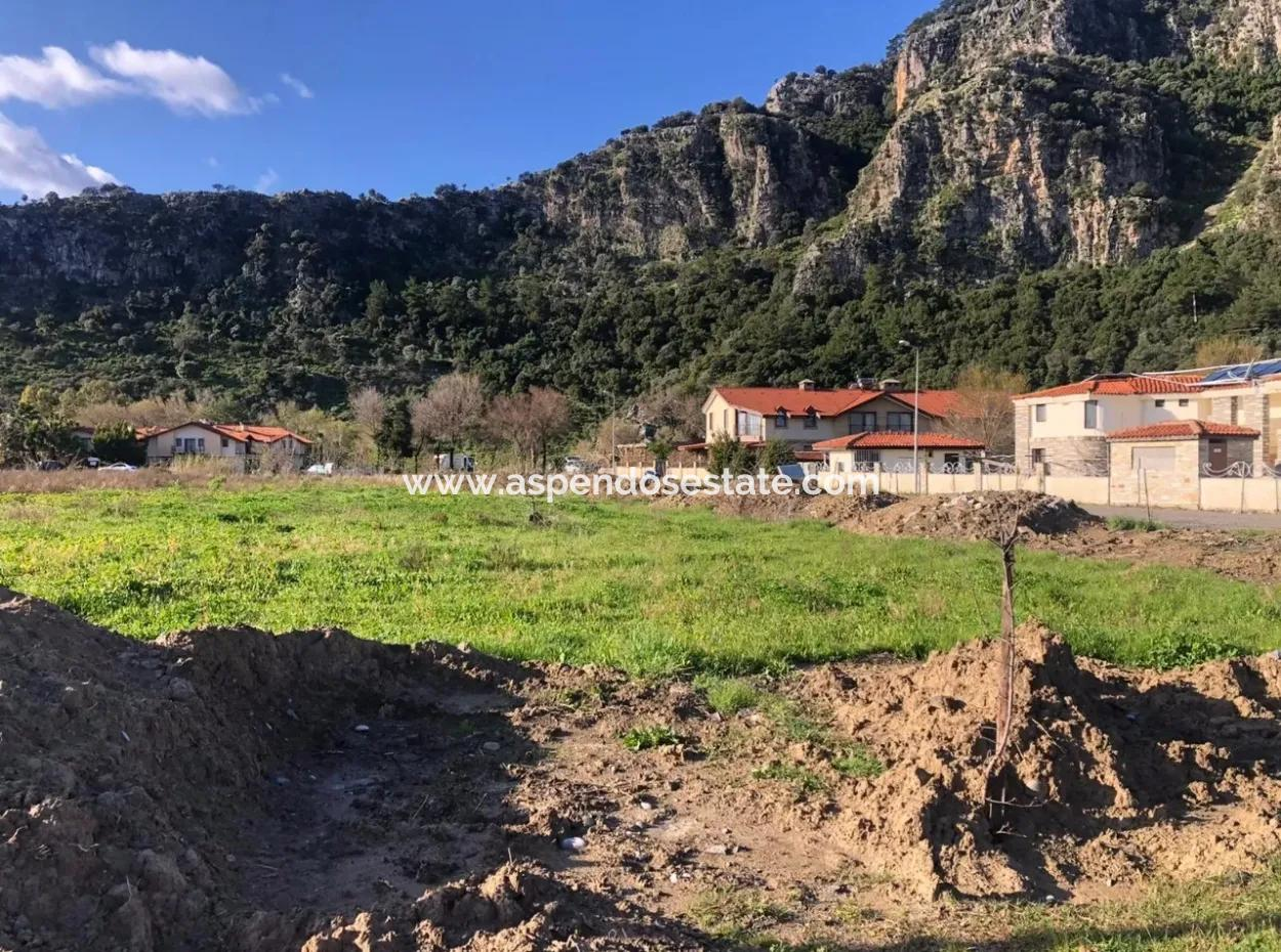 Land For Sale In Dalyan Tourism, Dalyan Plot For Sale Near Canal