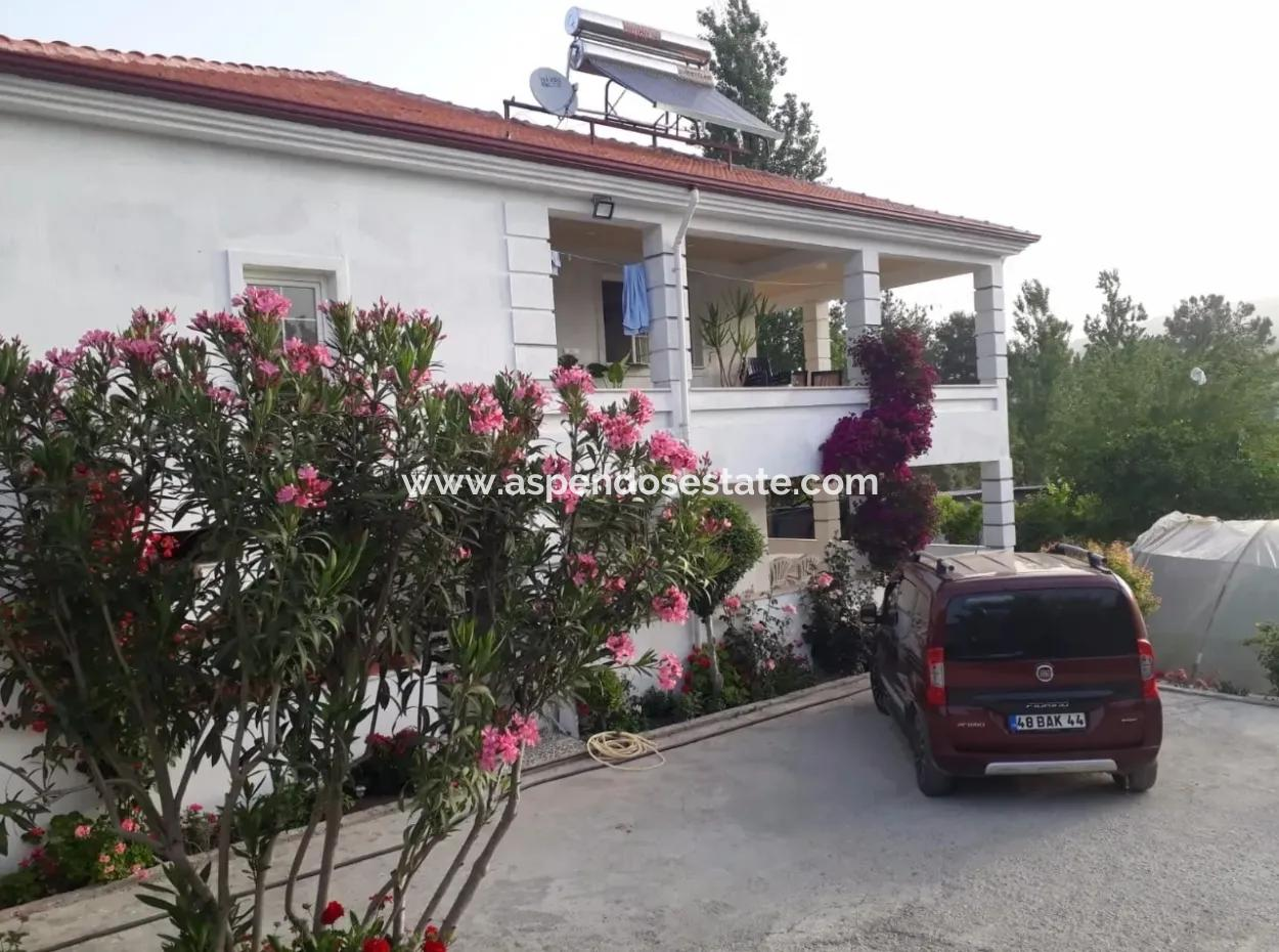 Home For Sale In Seydikemer 2211M2 Detached House For Sale Plot 6 2