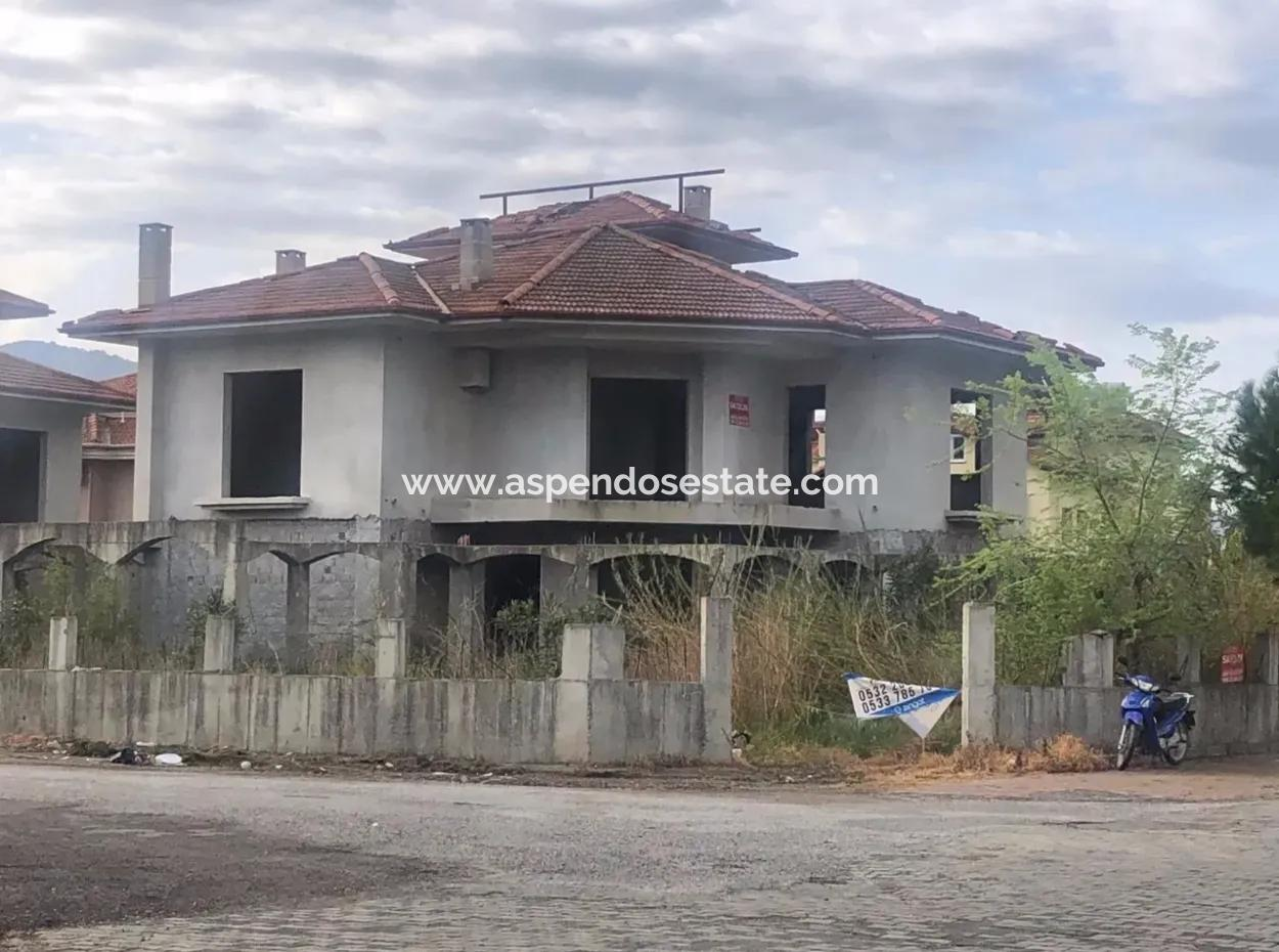 Dalyan Dalyan Villa For Sale Commercial Villa For Sale In The Cornerstone Plot Of 506M2