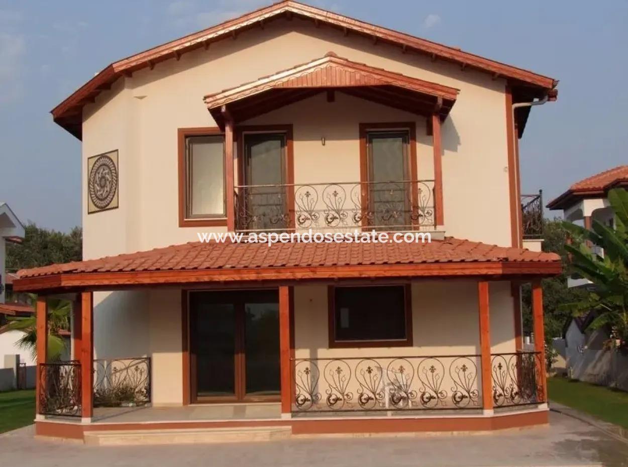 In Dalyan Dalyan Villa For Sale Detached Villa For Sale In 625 M2 Plot In 4 1