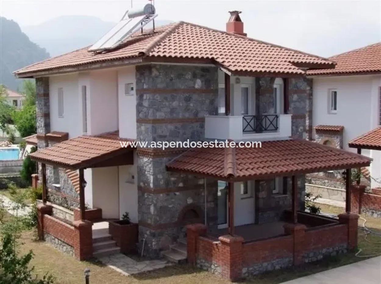 For Sale Bargain In Dalyan Ataturk In The Neighborhood Of 1 Site Within The 3 Villa For Sale On The Site