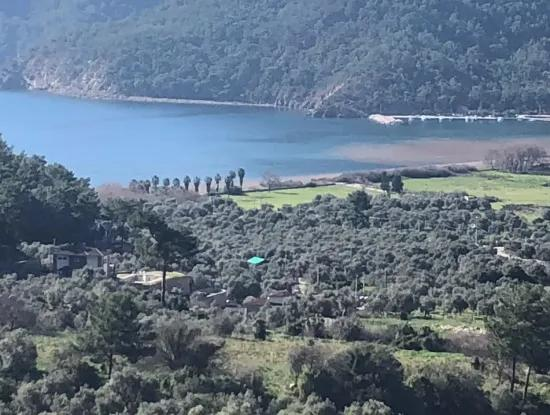 2 With Sea View For Sale In Ekincik,Ekincik Koycegiz For Sale: 535M2