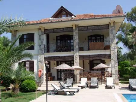 The Scenic Lake And The Channel In The Lagoon To The Sea Luxury Villa For Sale In The Royal Tombs Of Maras