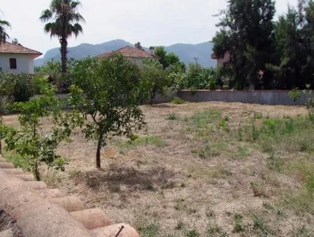676M2 Plot For Sale In Dalyan For Sale Dalyan At The Corner Of