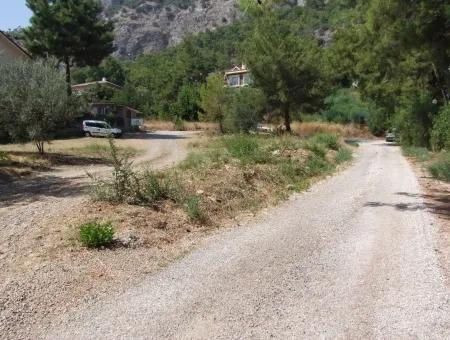 Land For Sale In Gocek Fethiye Göcekde 2017M2 Land For Sale With Full Sea View