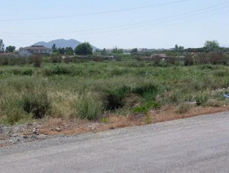 Commercial Plot 2500M2 Plot For Sale Bargain For Sale In Fethiye From The Main Road To Zero