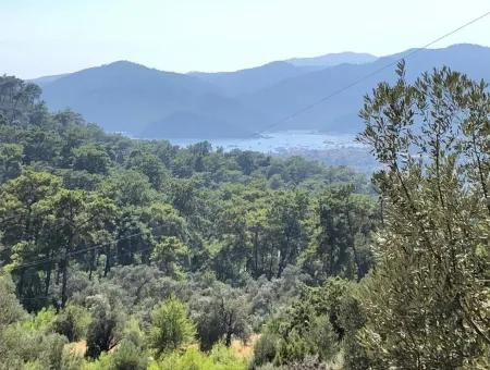 Tourism Zoned Land For Sale In Gocek With Sea Views For Sale In Gocek