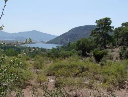 Çandır For Sale With Full Sea View With Sea Views 10,128M2 Plot For Sale
