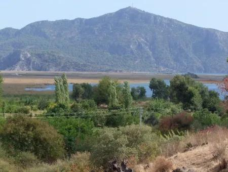 Koycegiz, Dalyan For Sale, Dalyan Villa For Sale With Sea Views In The Village Of