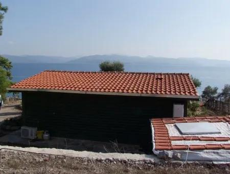 Beachfront Bungalow For Sale In Akbuk By The Sea In A Plot Of 800M2 Villa For Sale Turnalı