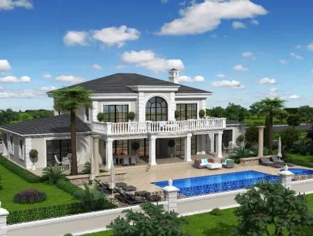 Zeytinalan 6800M2 Plot With Lake View Luxury Villa For Sale In Koycegiz, Villa For Sale In Full Zeytinalani