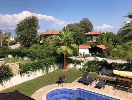 4+1 Villas For Sale In 575M2 Plot In Dalyan