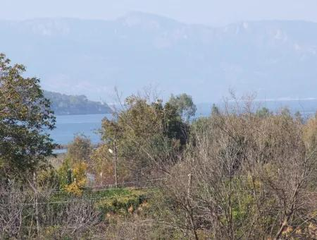 6850M2 Zoning Land With Sea View In Çamlı