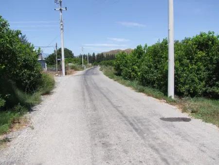 Land For Sale In Fevziye 963M2 Zoning Land For Sale
