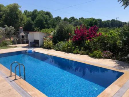 Dalyan Villa For Sale 612M2 Plot In 3 1 Villa For Sale