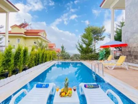 4+1 Villa For Sale In Fethiye Ovacik