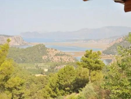 Villa Gokbel Dalyan Iztuzu Villa For Sale With Full Sea View For Sale In Gokbel