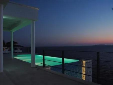 Villa For Sale Sea Villa For Sale With Sea Views And The Island Of Meis Nov