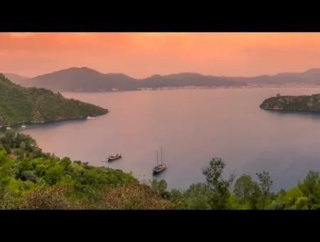 Marmaris Island Village Seafront 4000M2 Land For Sale Marmaris Bargain Land For Sale By Sea